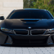bmw i8, bmw, bmw i8 matte black, cars wallpaper