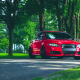 audi rs4, audi, cars, red cars wallpaper