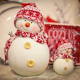 holiday, new year, snow, toys, snowmen wallpaper