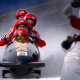 sport, athletes, bobsled, winter, snow, ice, winter olympics wallpaper