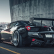 ferrari 458 italia, ferrari 458, liberty walk, cars, tuning, black car wallpaper