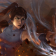 Korra, The Legend of Korra, water, fire, women, artwork, digital art wallpaper