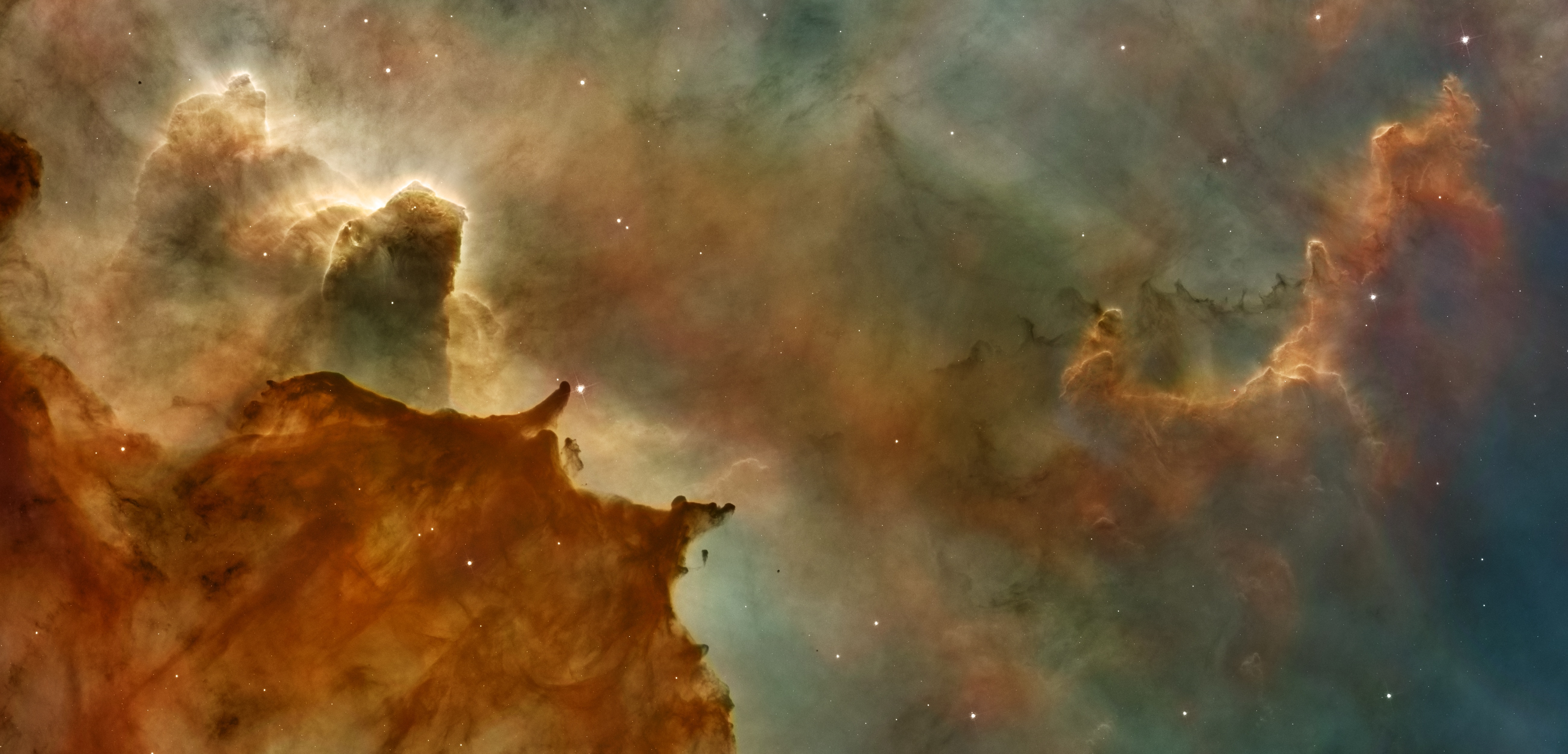 wallpapers hubble space telescope, space, nebula, galaxy, stars