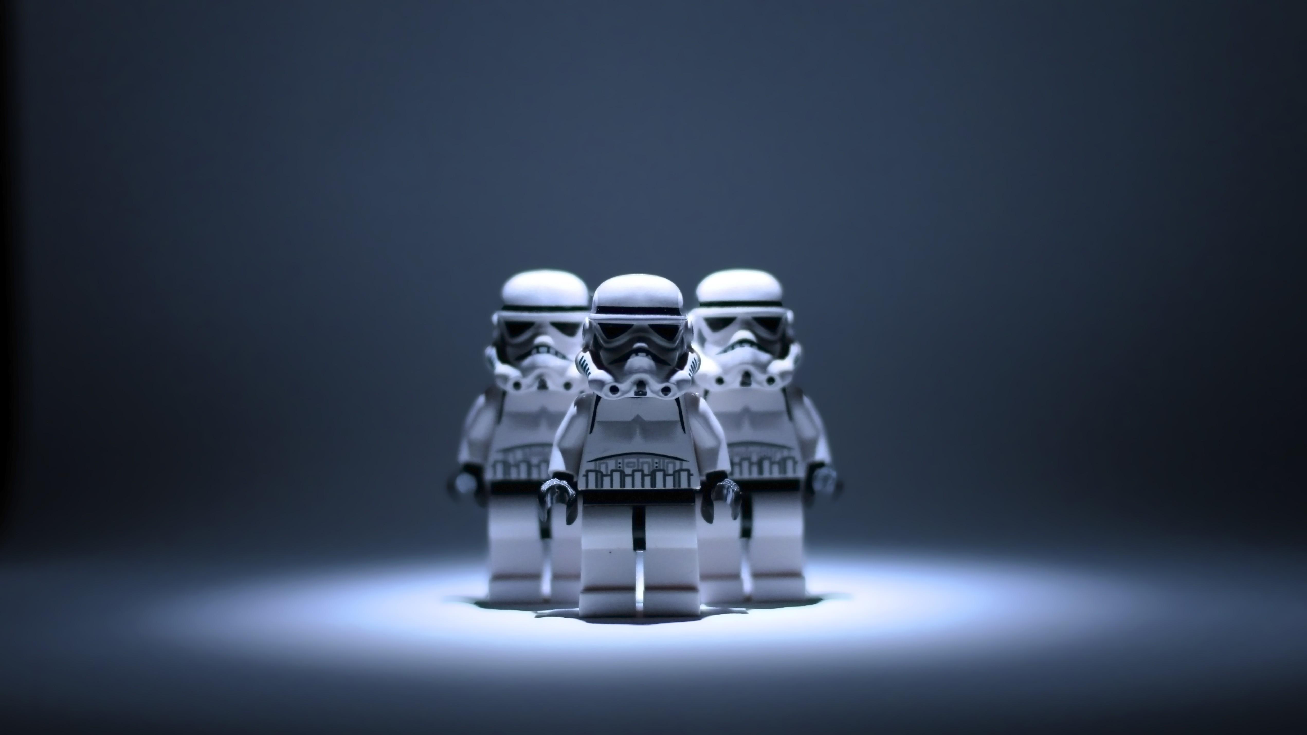 Звездные войны лего штурмовика - скачать обои на рабочий сто.