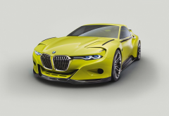 BMW 30 CSL Hommage Concept, BMW, car, green cars wallpaper