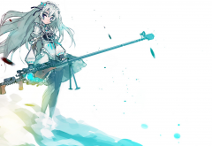 Hitsugi no Chaika, Chaika Trabant, anime, anime girls wallpaper