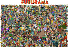 Futurama, Turanga Leela, Philip J. Fry, cartoons, Bender wallpaper