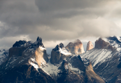 Patagonia, mountains, torres del paine, national park, nature, chile wallpaper