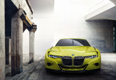 BMW 30 CSL Hommage Concept, BMW, car, vehicles, green cars wallpaper