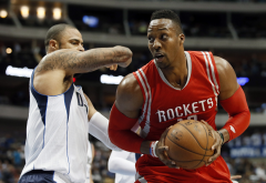 Dwight Howard, Houston Rockets, ball, basketball, sport wallpaper