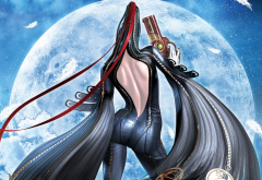 Bayonetta 2, video games, Bayonetta, planet wallpaper