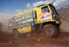 trucks, dirt, sport, rally, tatra, dakar wallpaper