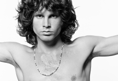 Jim Morrison, men, musicians, singer, shirtless wallpaper