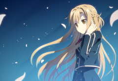 Sword Art Online, Yuuki Asuna, anime girls, anime wallpaper