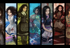 Alice: Madness Returns, American McGees Alice, video games wallpaper