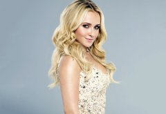 Hayden Panettiere, blonde, women, celebrity, actress, hairs, smile wallpaper