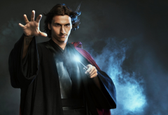 Zlatan Ibrahimovic, men, footballer, wizard, wands wallpaper