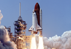 Space Shuttle, Atlantis, NASA, launch pad, shuttle wallpaper