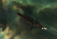 space, spaceship, EVE Online, Minmatar, video games wallpaper