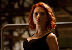 Scarlett Johansson, actress, The Avengers, movies, redhead, women wallpaper