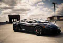 car, Lamborghini, Lamborghini Gallardo, clouds, Lamborghini Gallardo LP560-4 wallpaper