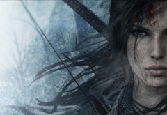 Lara Croft, Rise of the Tomb Raider, games, artwork, art wallpaper