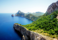 Spain, Mallorca, island, sea, nature wallpaper