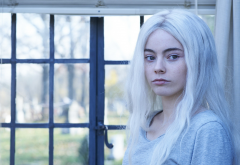 Freya Tingley, Hemlock Grove, tv series, movies, actress, women, white hair wallpaper
