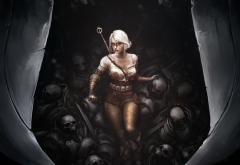 games, The Witcher 3: Wild Hunt, Ciri, The Witcher wallpaper