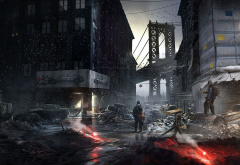 Tom Clancy's The Division, video games, art, apocalyptic, Manhattan wallpaper