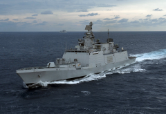 Indian Navy, Shivalik Class, Frigate, sea wallpaper