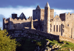 Rock of Cashel, church, abandoned, cathedral, Ireland, city wallpaper