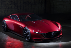 mazda, rx-vision, rotary engines, mazda rx-8, concept car wallpaper