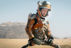 the martian, matt damon, movies, mars, desert, spaceman wallpaper