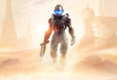 Halo 5, artwork, video games, Halo wallpaper
