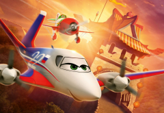 planes, rochelle, cessna 310, el chupacabra, gee bee model r, movies, cartoon, aircraft, great wall  wallpaper