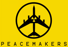 peacemakers, peace, war, nuclear, bomber, metal gear solid: peace walker, aircraft, games wallpaper