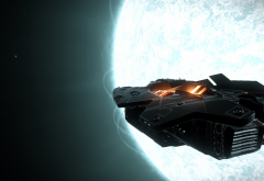 elite: dangerous, space, sun, science fiction, video games, spaceship wallpaper