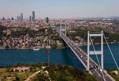 bosphorus bridge, istanbul, turkey, bosphorus, bridge wallpaper