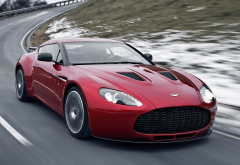 aston martin v12 zagato, car, aston martin, speed wallpaper