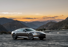 aston martin db9 gt, car, aston martin, mountains wallpaper
