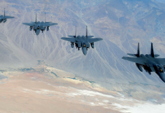 mcdonnell douglas, f-15e, strike eagle, flight, aircraft, fighter wallpaper