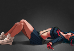 matoi ryuuko, kill la kill, artwork, anime girls, anime wallpaper