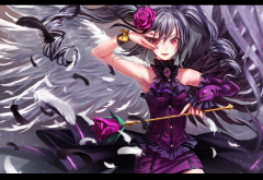 kanzaki ranko, skirt, anime, anime girls wallpaper