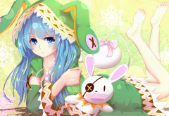 anime, date a live, yoshino, yoshinon wallpaper