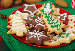 christmas, xmas, cookies, new year, food wallpaper