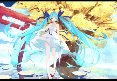 vocaloid, hatsune miku, anime, girl wallpaper