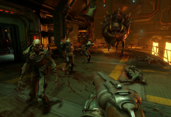 Doom, Doom 4, ID software, video games, shooter, first-person shooters wallpaper
