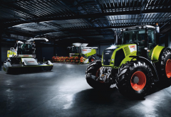 combine-harvester, claas axion 850, tractors, claas lexion 600, agricultural equipment and machinery, claas jaguar 900, claas wallpaper