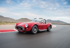 1964 ford shelby cobra 427, shelby, ford, cobra, cpeed, old cars, retro, cars wallpaper
